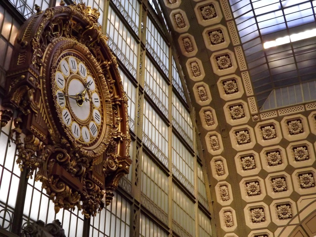 Giant clock at Musée d'Orsay