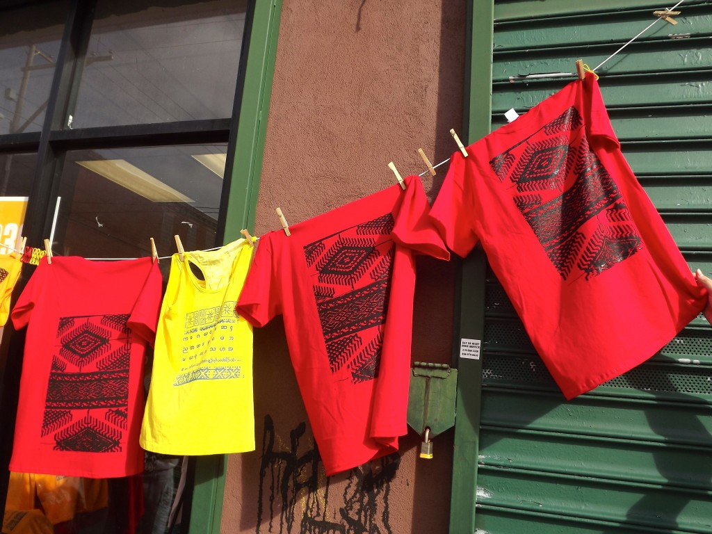 Screenpainted shirts