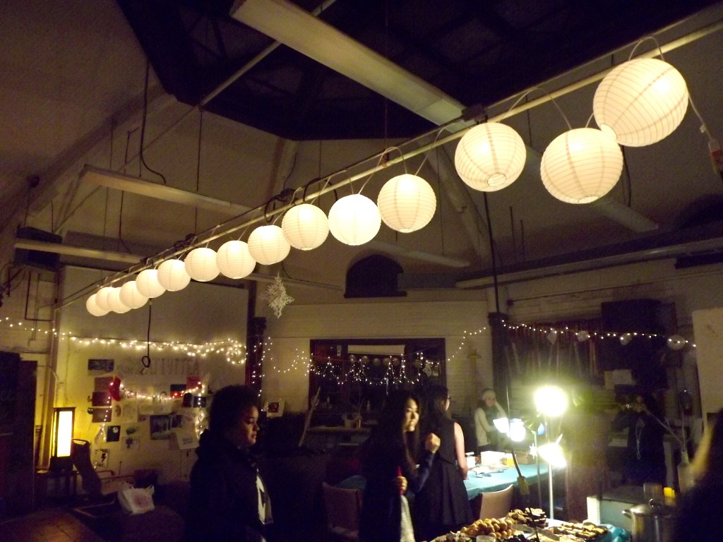 All decorated for the Studio Soiree
